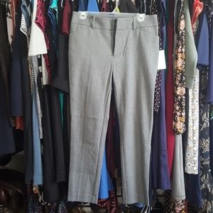 Gray work ankle pants NWT